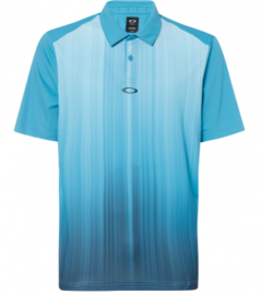OAKLEY INFINITY LINE GOLF POLO SS TEE STORMED BLUE - 434309-6SB-XL