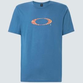 OAKLEY POP ELLIPSE SS TEE INTERSTELLAR BLUE L - FOA400056-6TR-L