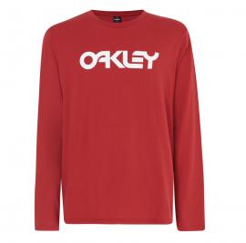 OAKLEY MARK II L/S TEE SAMBA RED - 457134-4A6-S
