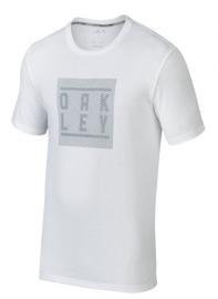 PÁNSKÉ TRIKO - OAKLEY O-BLUR STACK TEE WHITE - 456003-100-XL