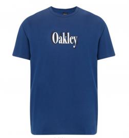 PÁNSKÉ TRIKO - OAKLEY SHADOW LOGO TEE DARK BLUE - 457533-609-M