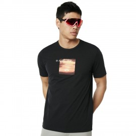 OAKLEY SUNSET PRINT TEE Blackout - 457548-02E - M