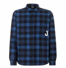 PÁNSKÁ KOŠILE - OAKLEY ICON FLANEL LONG SLEEVE SHIRT- DARK BLUE 401901-609-M