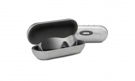 OAKLEY Sunglass Case Large Metal Vault Silver - 07-255
