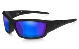 Wiley X TIDE - Gloss Black / Polarized - Blue Mirror - Green - CCTID09
