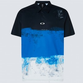 OAKLEY COLOR BLOCK SHADE POLO UNIFORM BLUE XL - FOA400132-6UN-XL