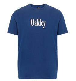 PÁNSKÉ TRIKO - OAKLEY SHADOW LOGO TEE DARK BLUE - 457533-609-S
