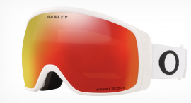 LYŽAŘSKÉ BRÝLE - OAKLEY FLIGHT TRACKER XM  - MATTE WHITE / PRIZM SNOW TORCH - OO7105-10