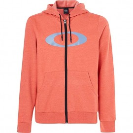 OAKLEY ELLIPSE FZ HOODIE PONCIANA HEATHER - 461644-4A7 - XL