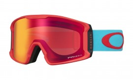 OAKLEY Line Miner XM Caribbean Sea Red / Prizm Snow Torch - OO7093-17