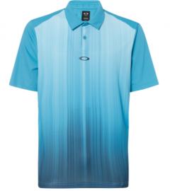 OAKLEY INFINITY LINE GOLF POLO SS TEE STORMED BLUE - 434309-6SB-L