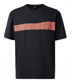 OAKLEY 249 FUTURES STRIPE TEE BLACKOUT - 457530-02E-L