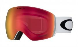 OAKLEY Flight Deck Snow Goggle Matte White / Prizm Snow Torch Iridium - OO7050-35