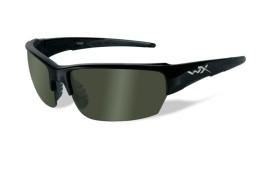 Wiley X SAINT - Gloss Black / Polarized - Smoke Green - CHSAI04