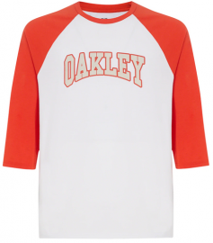 OAKLEY SPORT 3/4 TEE FIRE RED - 457565-4FR-M