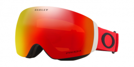 OAKLEY FLIGHT DECK XM - Red Black / Prizm Snow Torch Iridium - OO7064-81