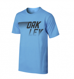 PÁNSKÉ TRIKO - OAKLEY 50/50 OAKLEY DASH TEE OZONE LIGHT HEATHER- 455996-6AH-L