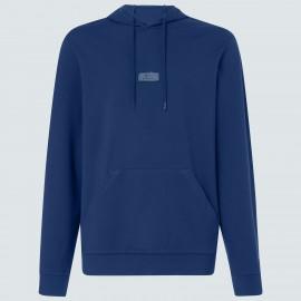 OAKLEY PATCH FLEECE HOODIE UNIVERSAL BLUE XL - FOA400016-6ZZ-XL