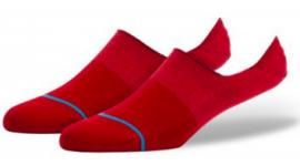 PÁNSKÉ PONOŽKY - STANCE SPECTRUM SUPER - RED / M - M115A16SPE-RED-RED-M