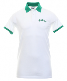 OAKLEY TNP PIQUET POLO SS TEE WHITE - 434469-100-XL