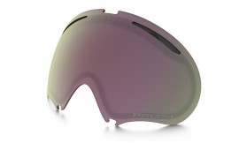 NÁHRADNÍ LYŽAŘSKÁ ČOČKA - Oakley A Frame 2.0 Replacement Lenses /prizm snow hi pink iridium - 101-244-006