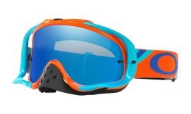 Oakley Crowbar MX Heritage Racer Goggle Bright Orange/ice iridium - OO7025-45