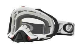 Oakley Mayhem Pro MX Goggle Matte White/clear - OO7051-14