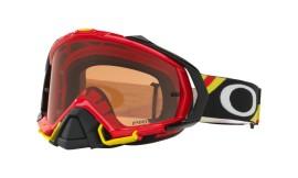 Oakley Mayhem Pro MX Heritage Racer Goggle Bright Red/prizm mx bronze - OO7051-44