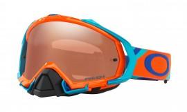 Oakley Mayhem Pro MX Heritage Racer Goggle Neon Orange/prizm mx black iridium - OO7051-45