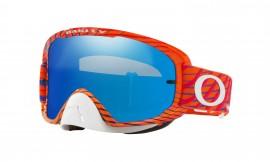 Oakley O Frame 2.0 MX Troy Lee Designs Goggle Bright Orange/ice iridium - OO7068-22