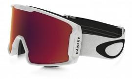 LYŽAŘSKÉ BRÝLE - Oakley Line Miner Snow Goggle Matte White/prizm snow torch iridium - OO7070-13