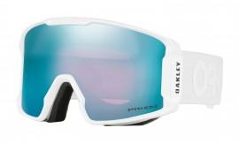 LYŽAŘSKÉ BRÝLE - Oakley Line Miner Snow Goggle Matte White/prizm snow sapphire iridium - OO7070-15