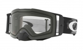 Oakley Front Line MX Goggle Matte Black/clear - OO7087-01