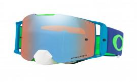 Oakley Front Line MX Goggle Flo Lime Blue/prizm mx sapphire - OO7087-11