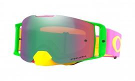 Oakley Front Line MX Goggle Pink Yellow/prizm mx jade iridium - OO7087-12