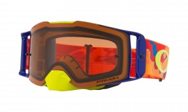 MOTOKROSOVÉ BRÝLE - Oakley Front Line MX Goggle Thermo Camo Orange Red/prizm mx bronze - OO7087-14