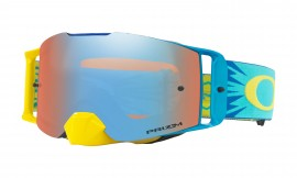 MOTOKROSOVÉ BRÝLE - Oakley Front Line MX Goggle High Voltage Blue Yellow/prizm mx sapphire - OO7087-17