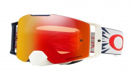 MOTOKROSOVÉ BRÝLE - Oakley Front Line MX Goggle High Voltage Yellow Red/prizm mx torch - OO7087-18