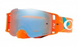 MOTOKROSOVÉ BRÝLE - Oakley Front Line MX Troy Lee Designs Series Goggles Troy Lee Design Metric Red Orange/prizm mx sapphire - OO7087-28