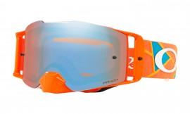 Oakley Front Line MX Troy Lee Designs Series Goggles Troy Lee Design Metric Red Orange/prizm mx sapphire - OO7087-28