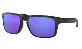 Oakley Holbrook Julian Wilson Signature Series Matte Black/violet iridium - OO9102-26
