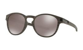 Oakley Latch Woodgrain / Prizm Black Polarized - OO9265-3853