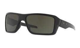 Oakley Double Edge Matte Black/dark gray - OO9380-0166