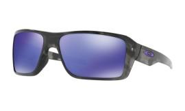 Oakley Double Edge Matte Black Tortoise/violet iridium - OO9380-0466