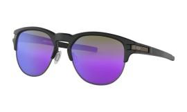 Oakley Latch Key L Matte Black/violet iridium - OO9394-0255